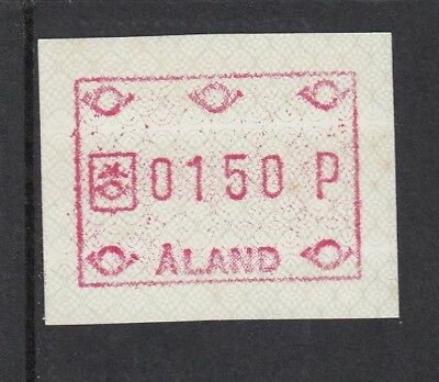 (19210) Aland MNH Finland FRAMA label unmounted mint
