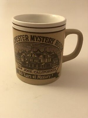 WINCHESTER MYSTERY HOUSE Vintage Coffee Mug Story 100 Year - Collectable RARE