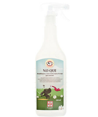 NO QUI spray disabituante per esterni per cani e gatti Fuss-dog