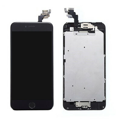 OEM For iPhone 6 Plus LCD Digitizer Touch Screen Replacement +Home Button Camera