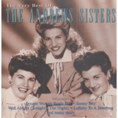 ANDREWS SISTERS Very Best Of CD Europe Summit 1996 16 Track (Sumcd4047)