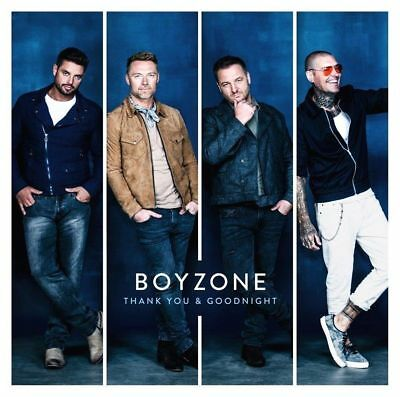 BOYZONE THANK YOU & GOODNIGHT CD (Released November 16th 2018)