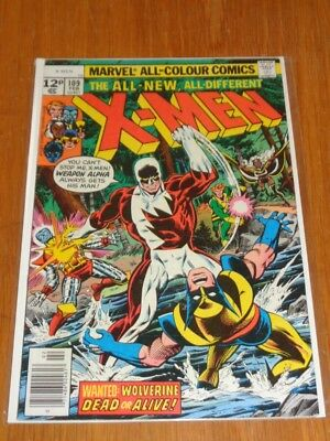 X-Men Uncanny #109 Marvel Comics 1St App Weapon Alpha February 1978 Vg+ (4.5)*