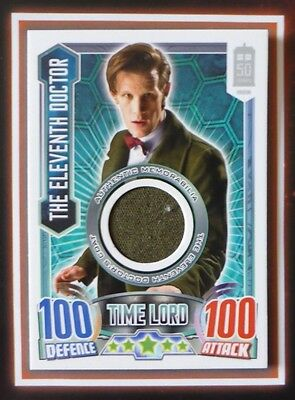 Dr Doctor Who ALIEN ATTAX 50th Anniversary THE ELEVENTH DOCTOR Costume Card