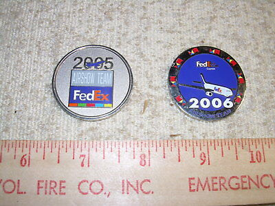 FedEx Air Show Coins  2005 & 2006