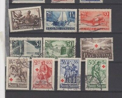 A Good Cat Value Finland 1930 to 1940 group of Issues