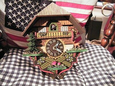 Cuckoo Clock For Spares Or Repair