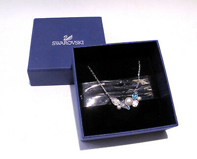 Swarovski Extra Necklace 5205005 Bargain Retired Crystal Pearl Jewelry Boxed