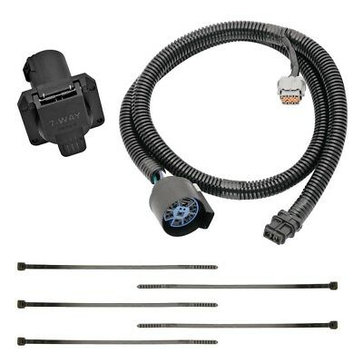 7-way rv trailer wiring harness kit for 05-19 nissan frontier w/