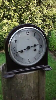 Smiths Enfield Bakelite Cased Mantel Clock