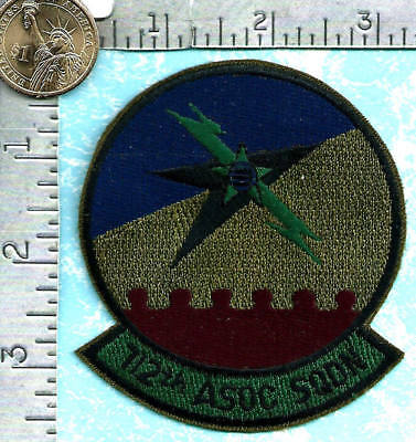 USAF patch (circa 1980's) - 112th Air Support Operations Center Squadron