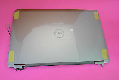 """New Dell Precision M4500 15.6/"""" LCD Back Cover Lid w// Hinges G1XVM 0G1XVM"""
