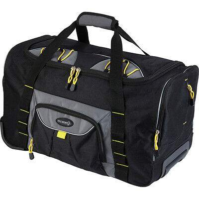 """Travelers Club Luggage Sierra Madre 21"""" Two-Toned Softside Carry-On NEW"""