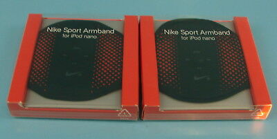 New Sealed Nike Sport Stretchy Black and Red Armband For IPOD Nano Style AC1126