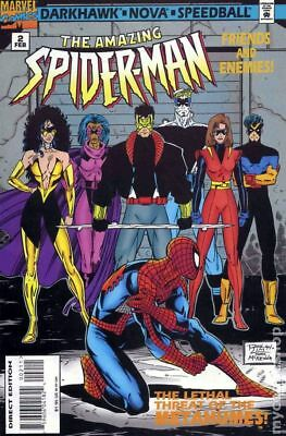 Amazing Spider-Man Friends and Enemies #2 1995 VF Stock Image