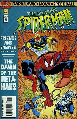 Amazing Spider-Man Friends and Enemies #1 1995 VF Stock Image