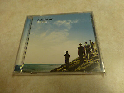 Rare Coldplay Cd Single Shiver Promo Dpro 7087 6 15935 2 5 Lot#7 Parachutes