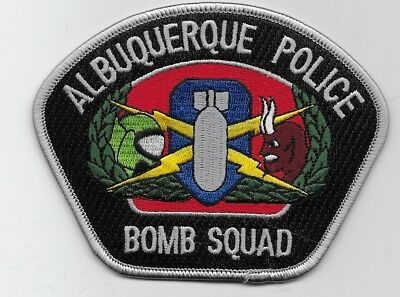 Bomb Squad EOD Albuquerque Police State New Mexico NM patch