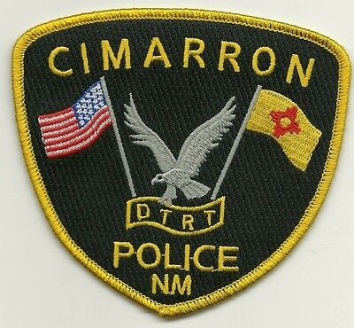 Cimarron Police State New Mexico NM patch
