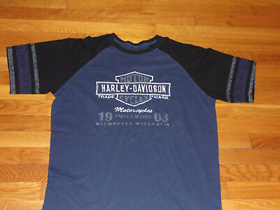 Harley-Davidson Wilkesboro Nc Short Sleeve T-Shirt Mens Xl Excellent Condition