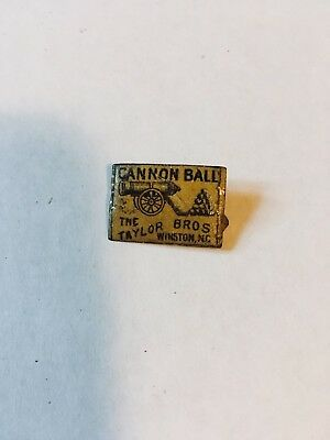 vintage Taylor Brothers Cannon Ball tobacco tag  Winston N.C.