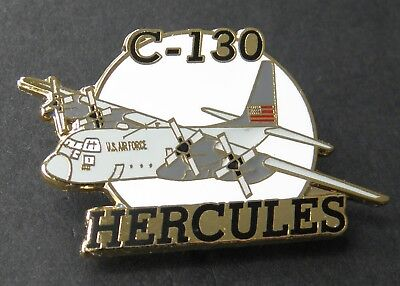 Hercules C-130 Usaf Air Force Aircraft Lapel Pin Badge 1.5 Inches