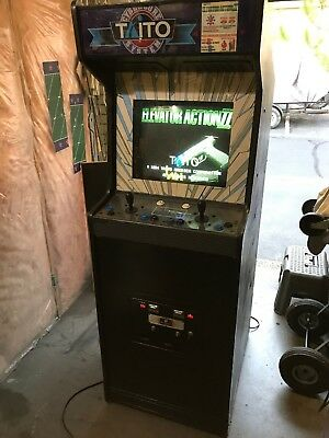 Taito F3 System Elevator Action II Returns Full Size Arcade Game Working!