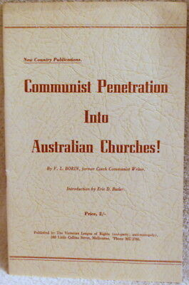 Communist Penetration Into Australian Churches! - Borin - 1954
