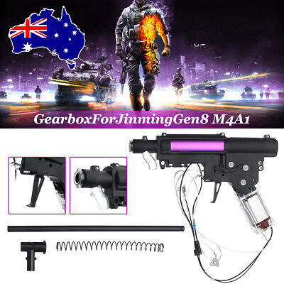 Upgrade Gearbox/Trigger Accessories For JinMing Gen8 M4A1 Gel Ball Blaster Toy
