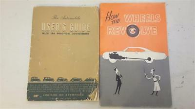 Two Old General Motors User's Manuals