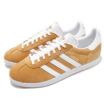 cheap for discount f3aa1 f6c7c adidas Originals Gazelle Yellow White Men Casual Classic Shoes Sneakers  B41653