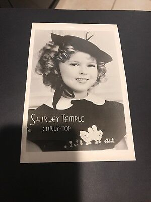 Vintage Movie Photo  Of Shirley Temple Curly Top From Movie Star News Archives