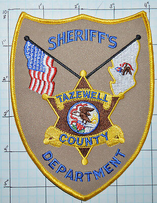 Illinois, Tazewell County Sheriff's Dept Patch