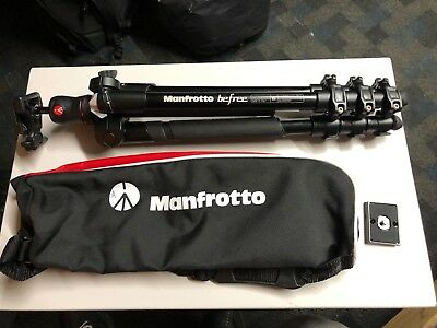 Manfrotto Befree Aluminium Travel Tripod with Ball Head - Black MKBFRA4-BH