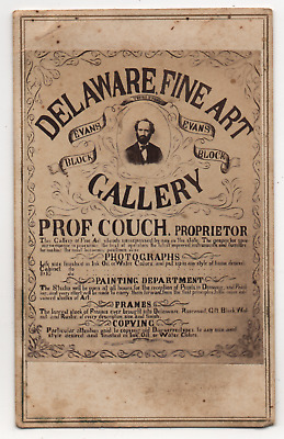 OH Ohio Delaware Fine Art Gallery Photographer Photography Studio Adv CDV Photo