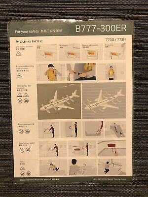 Cathay Pacific Flight Card
