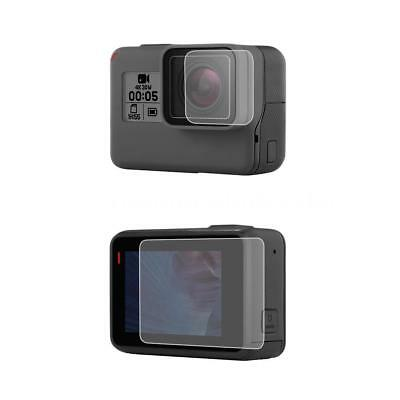 Tempered Glass LCD Lens Screen Protecter Film For Gopro Hero 7 6 5 Action Camera