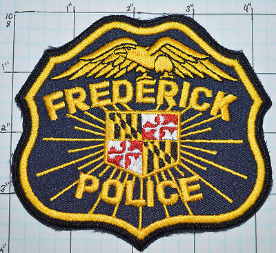 Maryland, Frederick Police Dept Patch