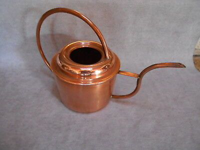 FRENCH  Vintage Elegant COPPER WATERING CAN