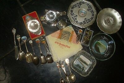 Big Mixed Lot of Vintage Retro Souvenirs -19 Pieces -All Sorts