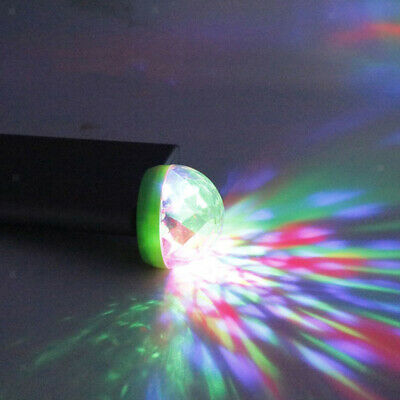 Mini USB Stage Disco Light Voice Control LED for Christmas Home KTV Club