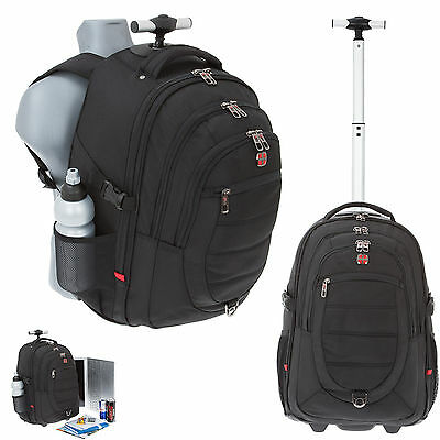 Trolley Laptop Rucksack NEW BAGS BUSINESS PRO 2 Rucksacktrolley Trolly SCHWARZ