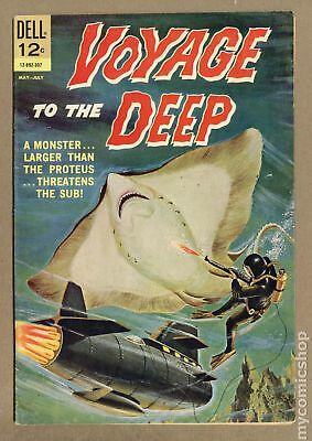 Voyage to the Deep #2 1963 VG- 3.5