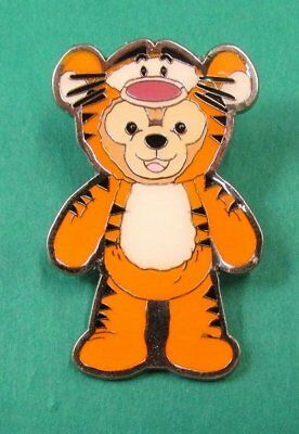 Disney Pin HKDL - Duffy Bear Costume Collection - Duffy as Tigger of Winnie Pooh