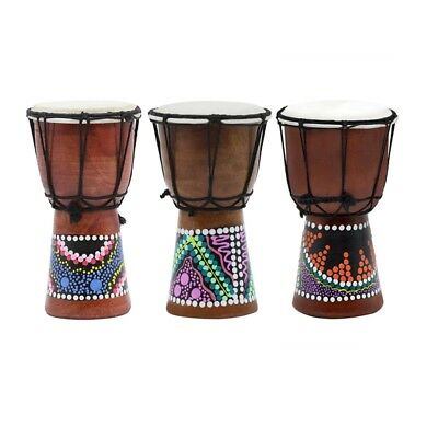 4 inch Multicolor African Hand Drum Professional  Tambourine for Christmas Gifts
