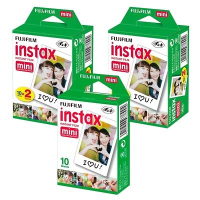 50 Shots Fuji Instax Mini Instant Film for Fujifilm Mini 8 7s Mini 90 50 Cameras