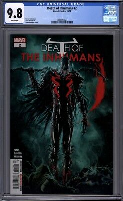 Death of the Inhumans #2   Marvel Comics  Vox Cover   1st Print  CGC 9.8
