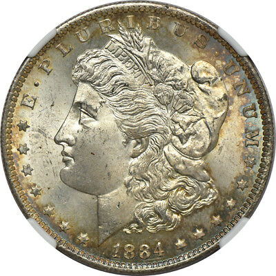 1884-O Morgan Dollar MS / Mint State 65, NGC $1 C32822