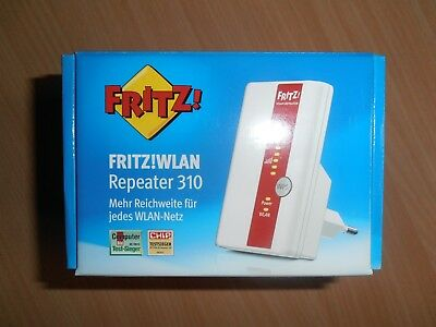 AVM FRITZ!WLAN Wireless LAN Repeater 310 WPS 300 Mbit/s WLAN