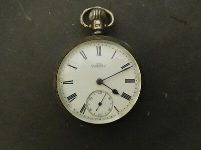 Antique Silver Pocket Watch spares or repair Tree Gt Dover Street.